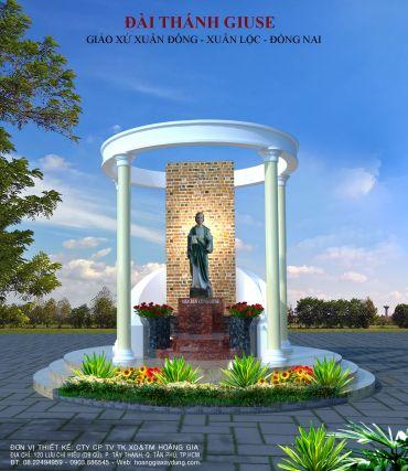 Đài Thánh Giuse - Giáo Xứ Xuân Đông - Xuân Lộc - Đồng Nai