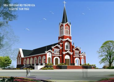 Nhà Thờ Giáo Họ Thánh Gia - Giáo Xứ Tam Thái