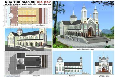 Nhà Thờ Giáo Xứ Gia Ray - Xã Xuân Trường - Huyện Xuân Lộc - Tỉnh Đồng Nai