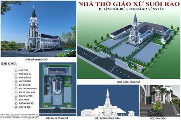 Nhà Thờ Giáo Xứ Suối Rao - Huyện Châu Đức - Tỉnh Bà Rịa Vũng Tàu