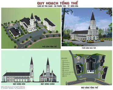 Quy Hoạch Tổng Thể - Giáo Xứ Tân Cang - Xã Phước Tân - TP.Biên Hòa